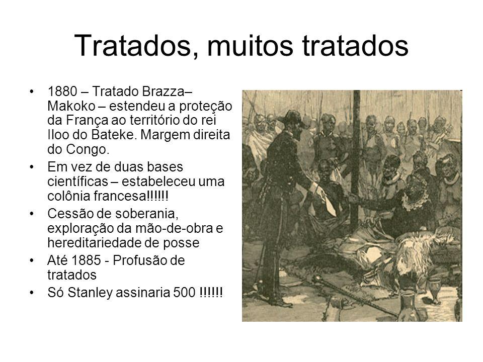 Tratados, muitos tratados