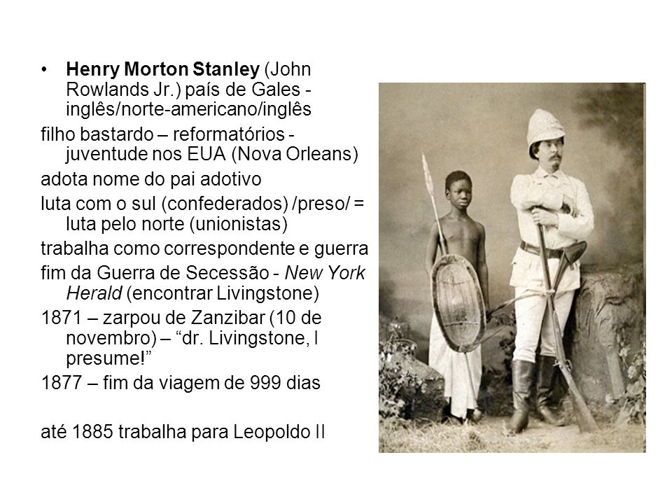 Henry Morton Stanley (John Rowlands Jr