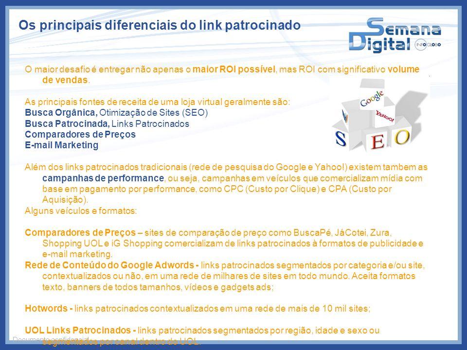 Os principais diferenciais do link patrocinado