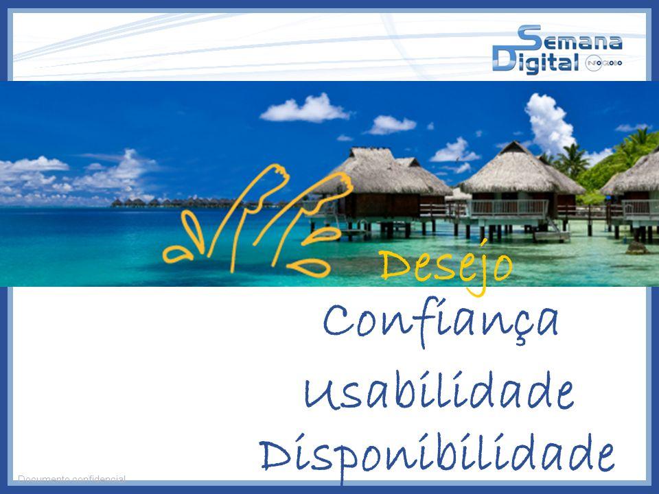 Desejo Confiança Usabilidade Disponibilidade Documento confidencial