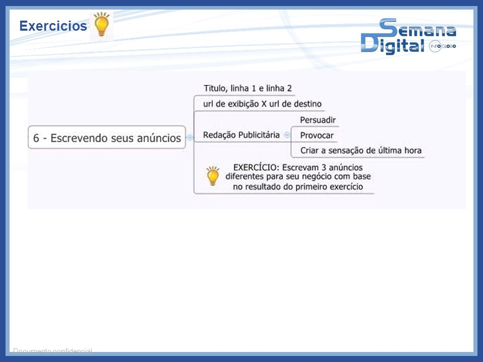 Exercicios Documento confidencial