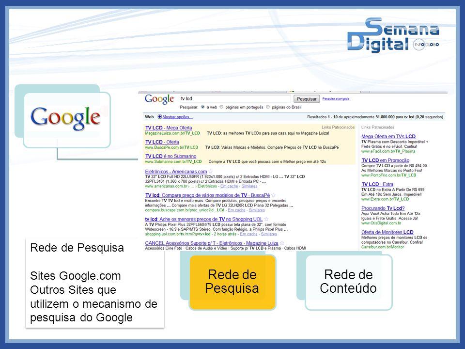 Outros Sites que utilizem o mecanismo de pesquisa do Google