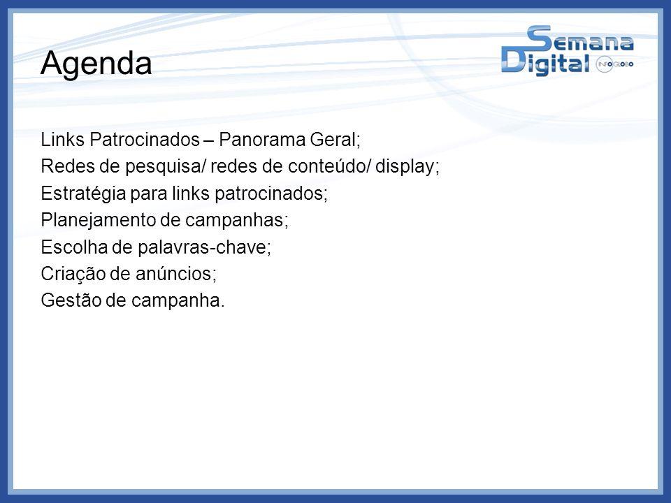 Agenda Links Patrocinados – Panorama Geral;