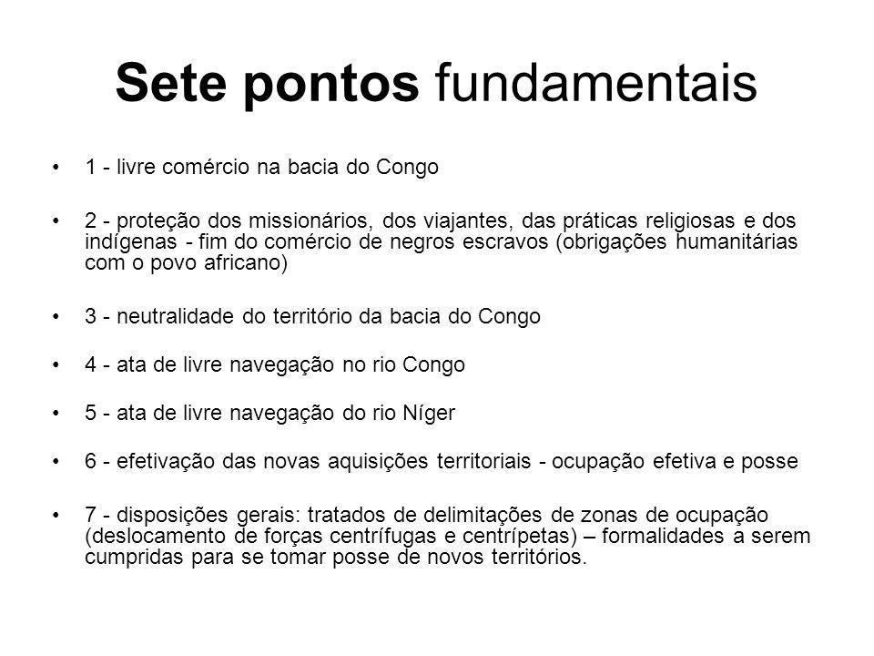 Sete pontos fundamentais