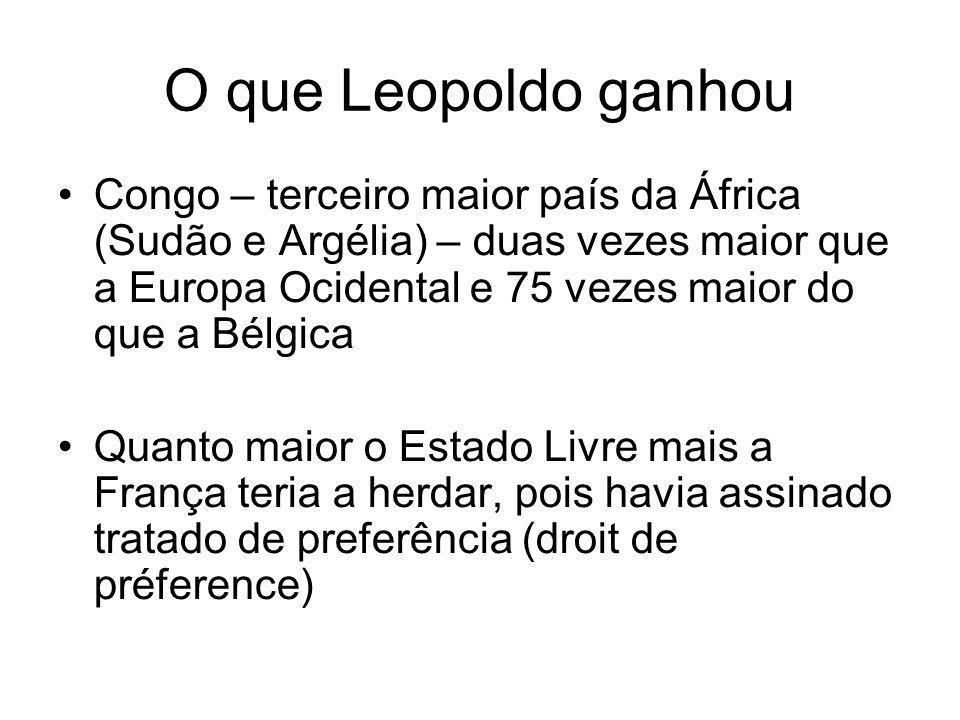 O que Leopoldo ganhou