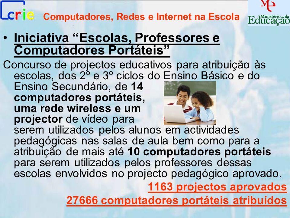 Computadores, Redes e Internet na Escola