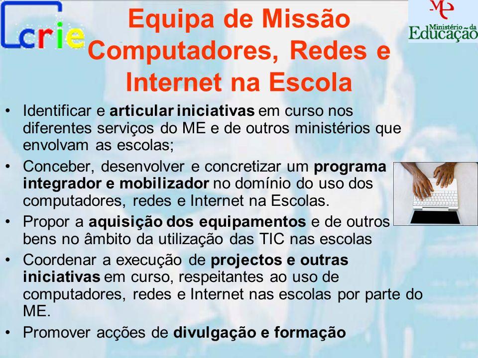 Equipa de Missão Computadores, Redes e Internet na Escola