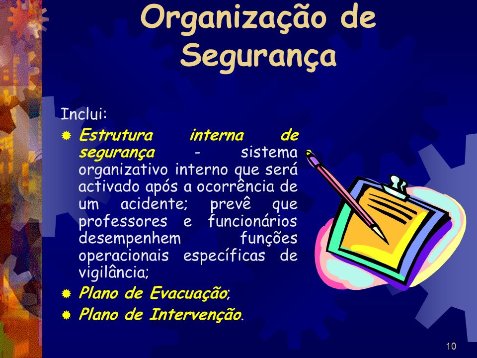 Organização de Segurança