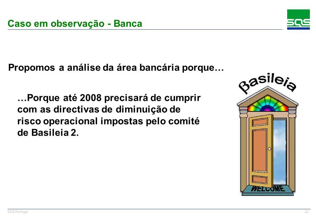 Caso em observação - Banca