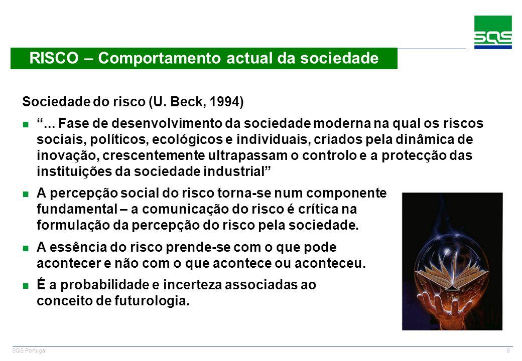RISCO – Comportamento actual da sociedade