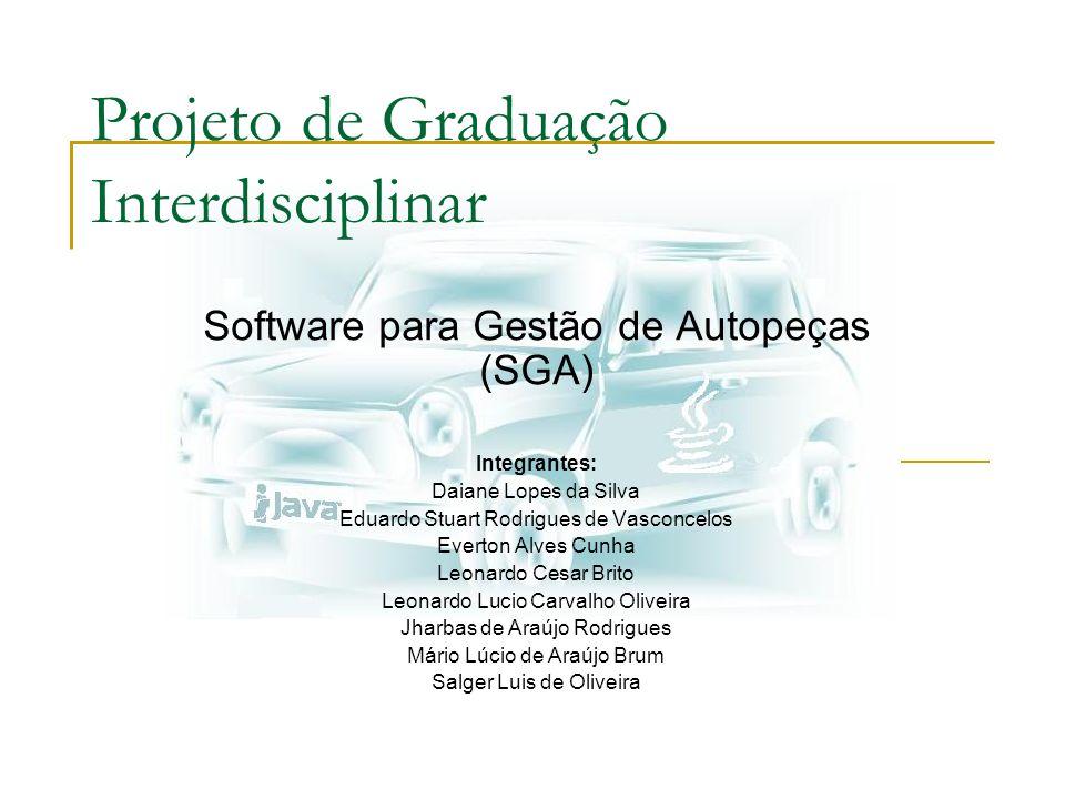 Projeto de Graduação Interdisciplinar