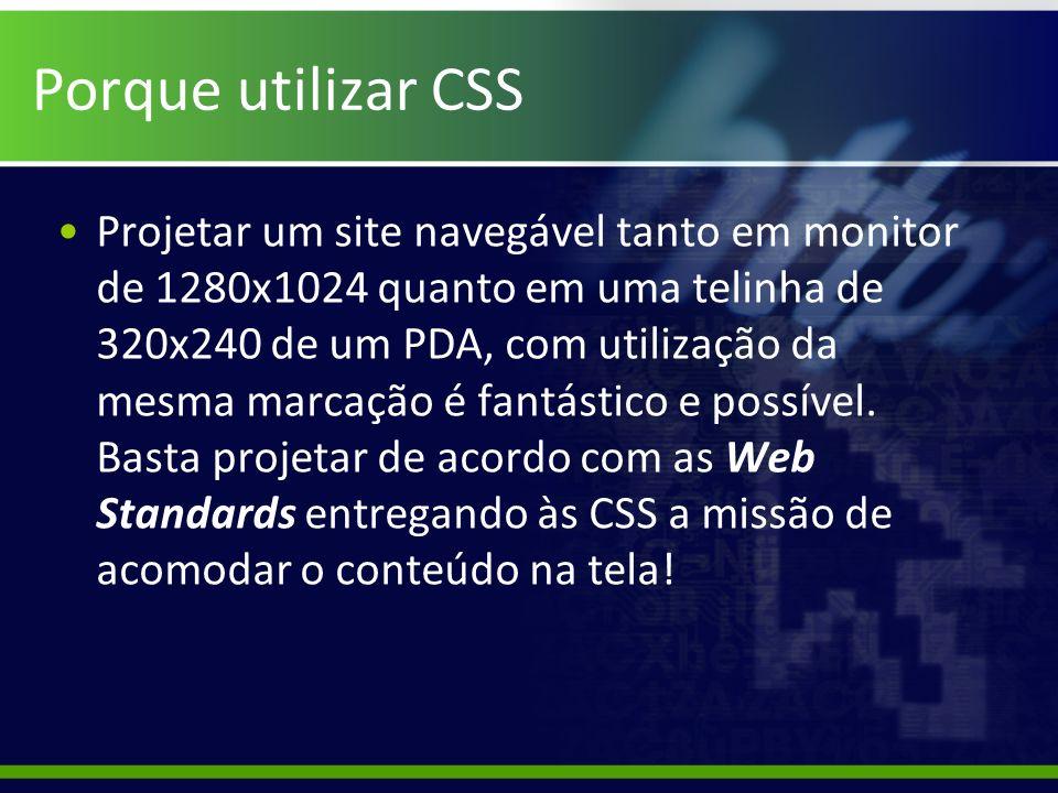 Porque utilizar CSS