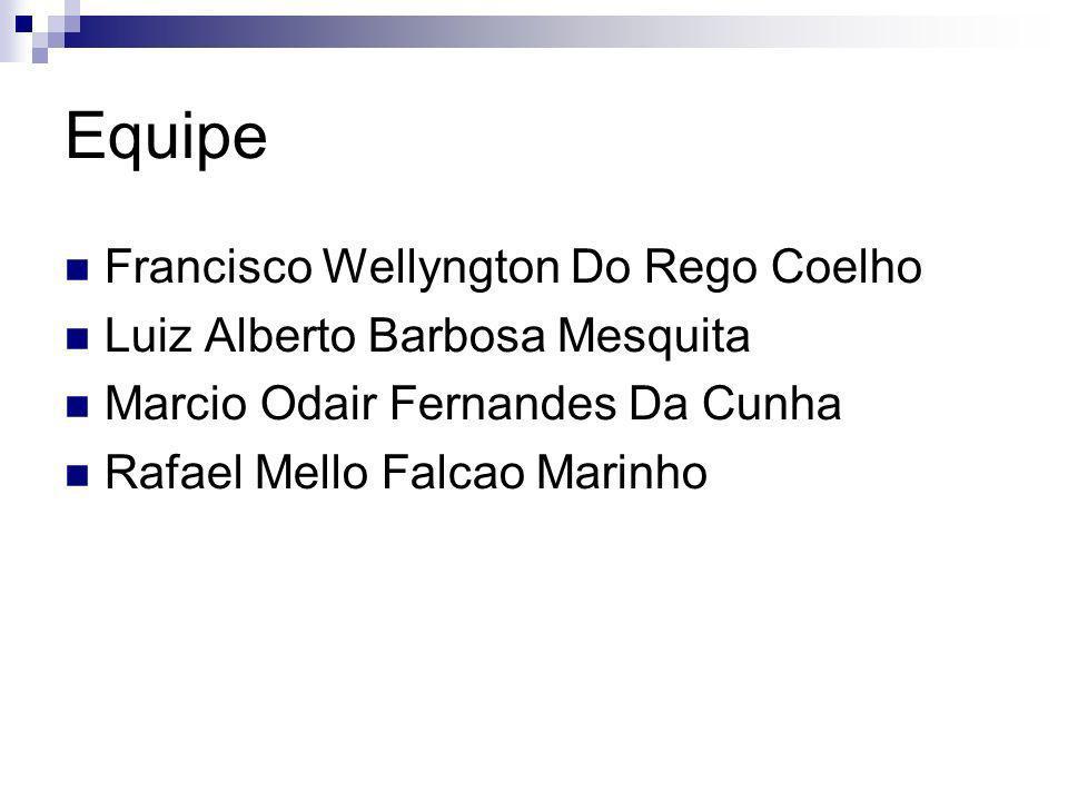 Equipe Francisco Wellyngton Do Rego Coelho