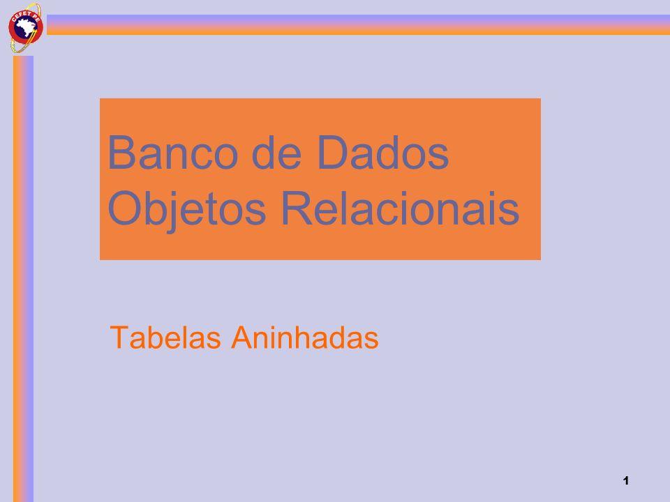 Banco de Dados Objetos Relacionais
