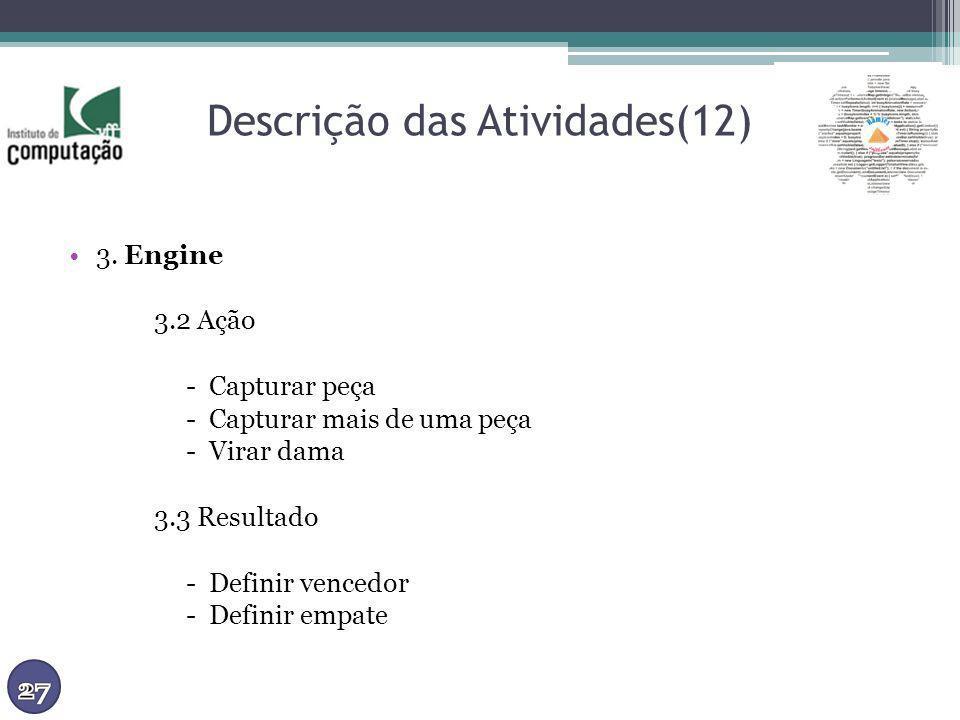 Descrição das Atividades(12)