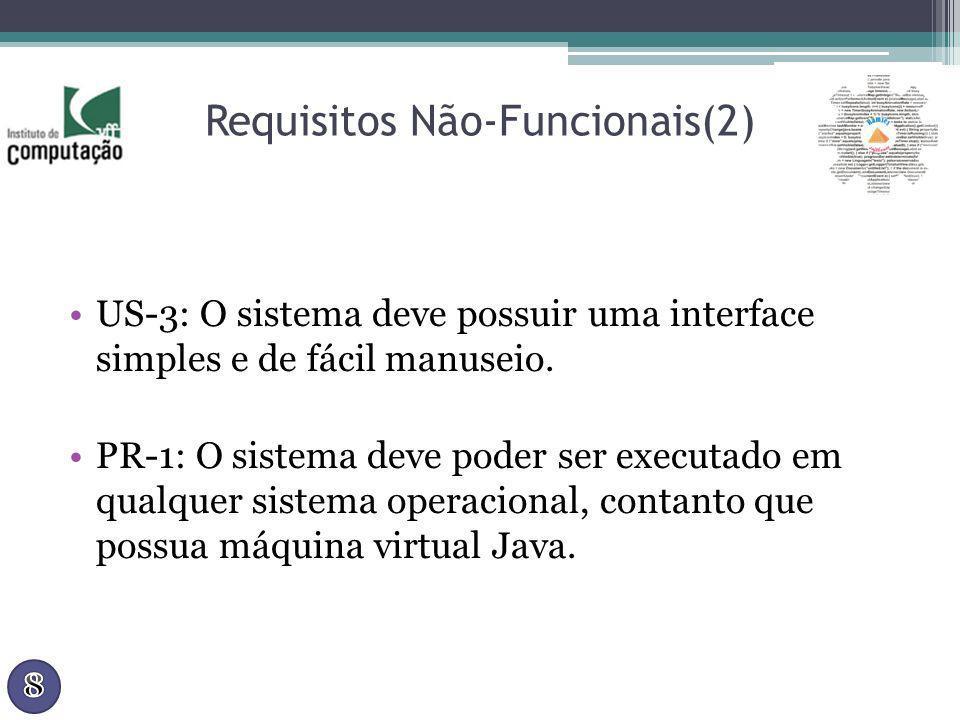 Requisitos Não-Funcionais(2)