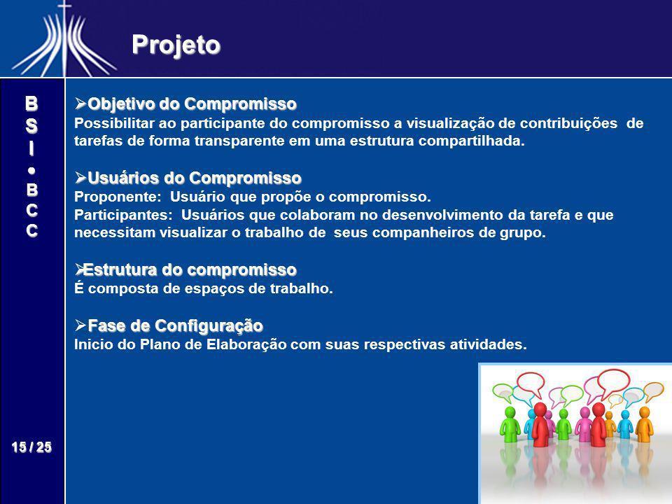Projeto Objetivo do Compromisso Usuários do Compromisso