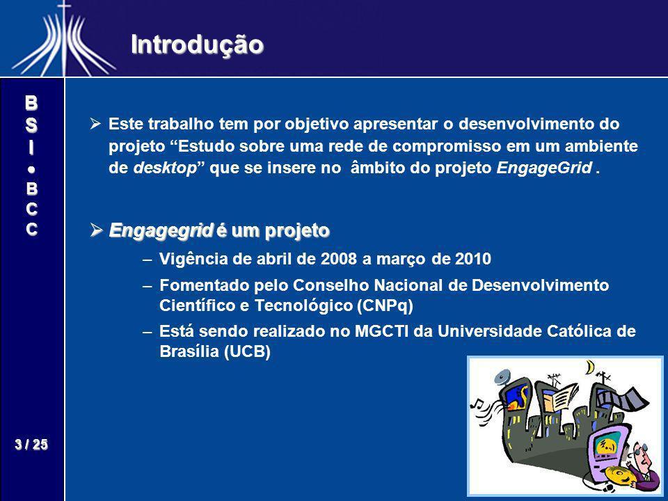 Introdução Engagegrid é um projeto