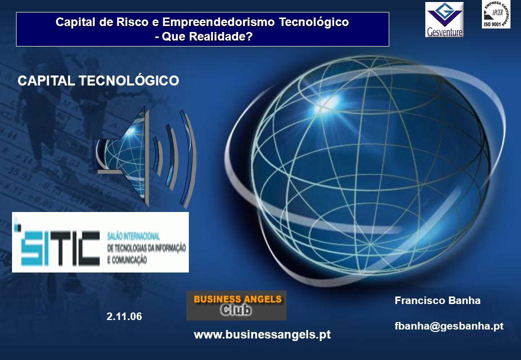 Capital de Risco e Empreendedorismo Tecnológico