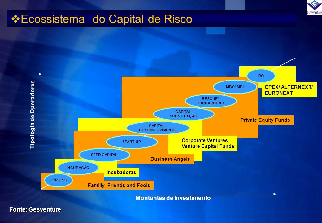 Ecossistema do Capital de Risco