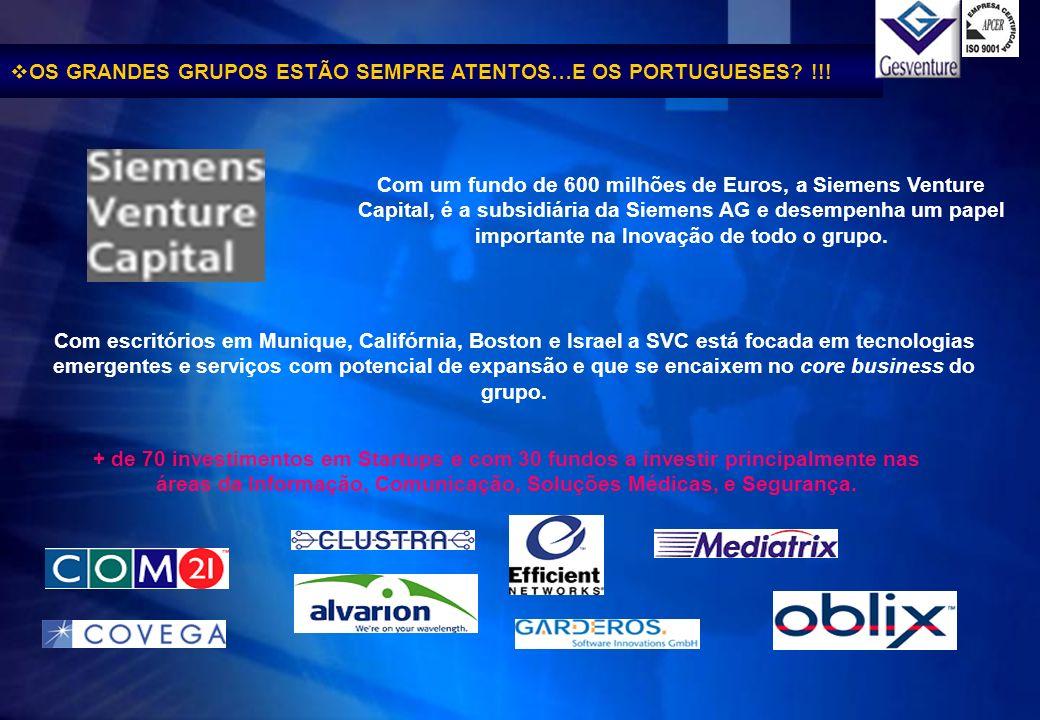 OS GRANDES GRUPOS ESTÃO SEMPRE ATENTOS…E OS PORTUGUESES !!!