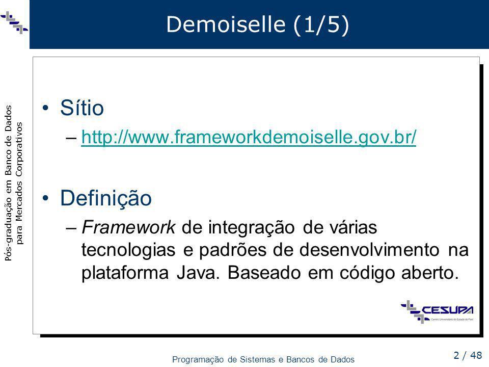 Demoiselle (1/5) Sítio Definição