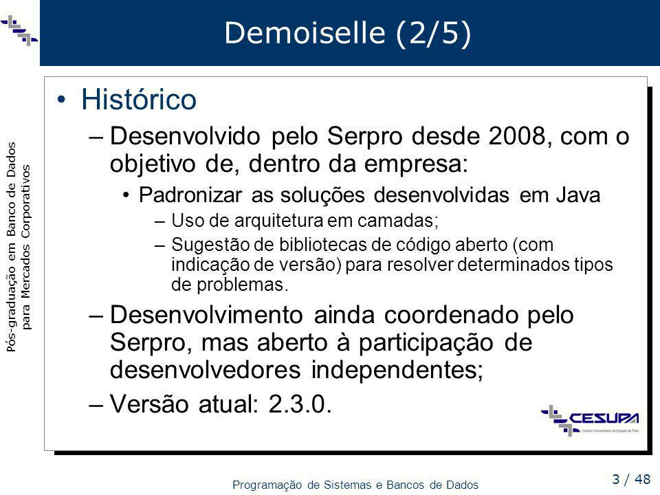Demoiselle (2/5) Histórico