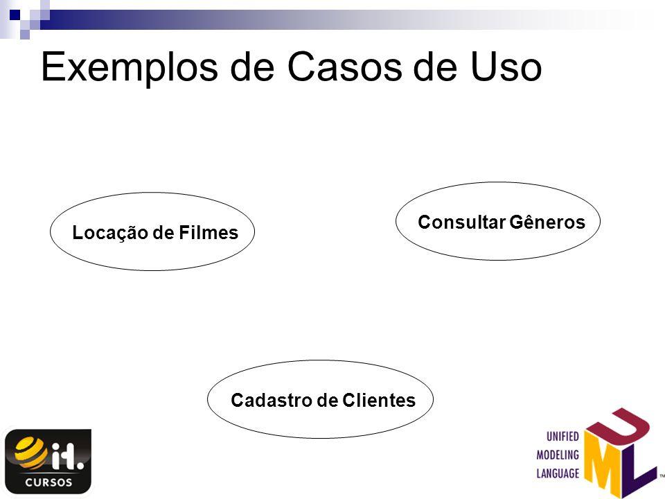 Exemplos de Casos de Uso