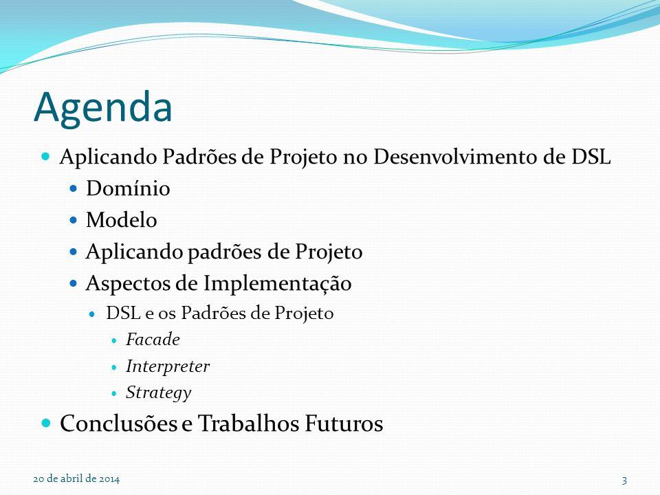 Agenda Conclusões e Trabalhos Futuros