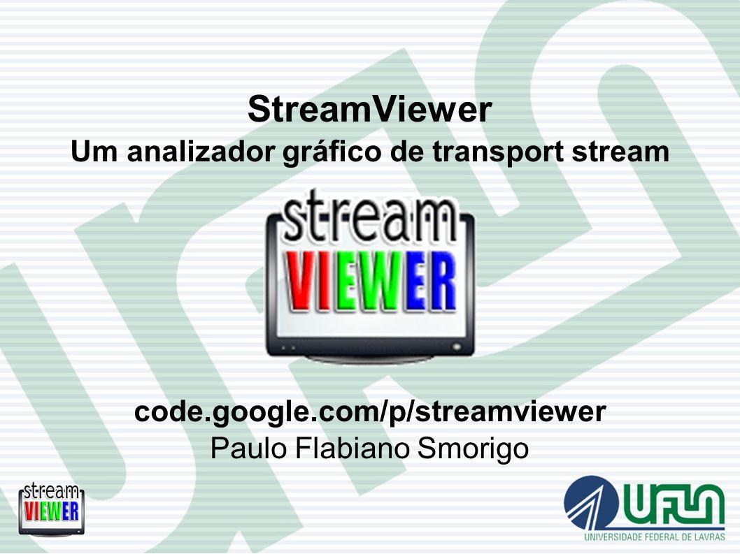 StreamViewer Um analizador gráfico de transport stream code. google