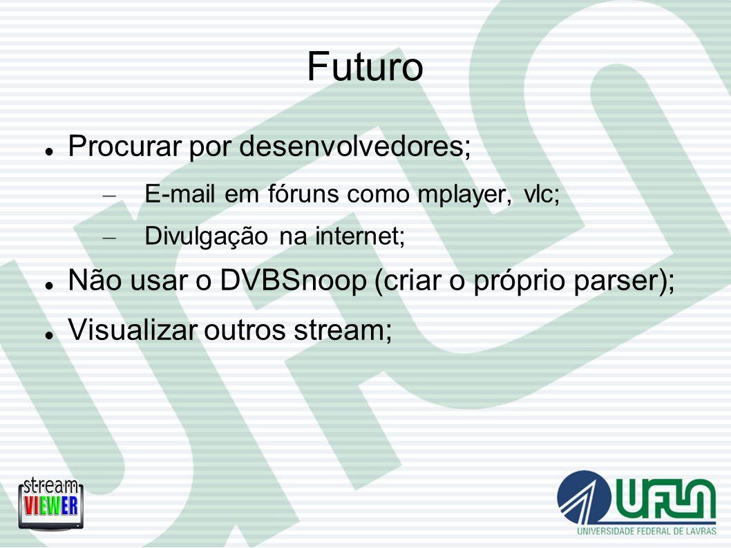 Futuro Procurar por desenvolvedores;