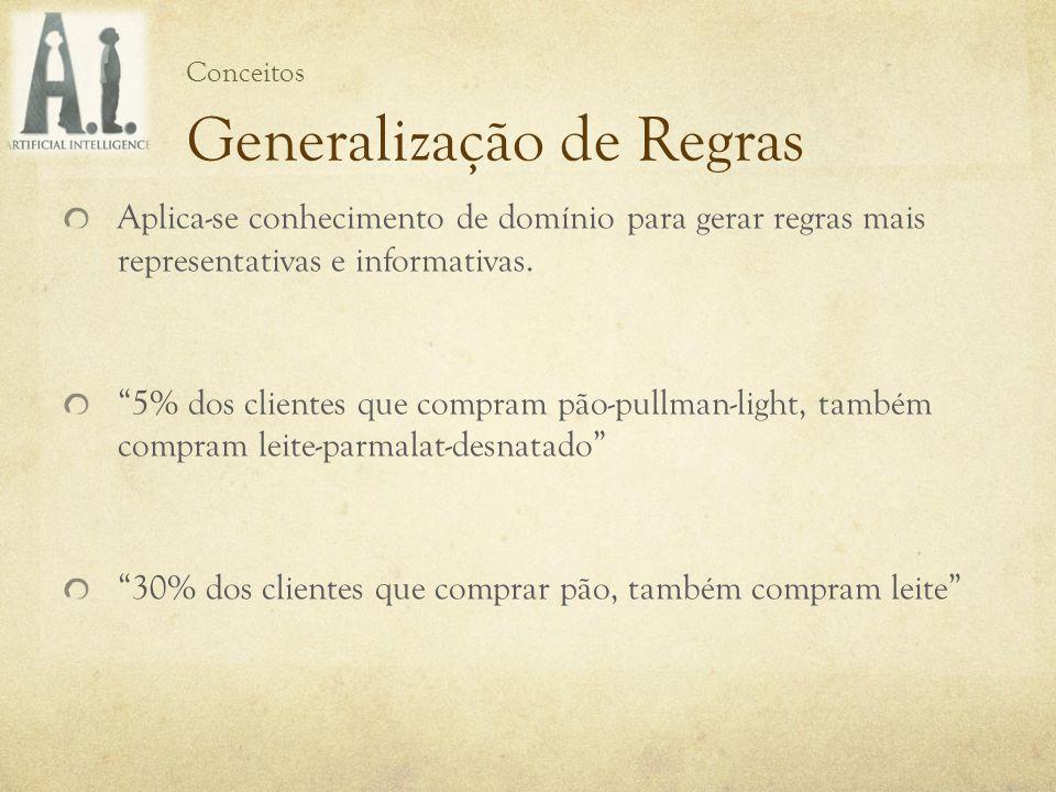 Generalização de Regras