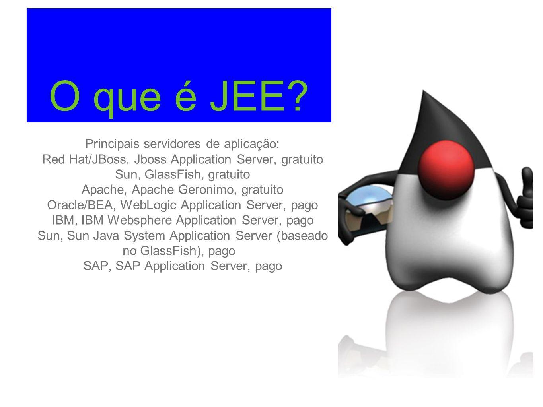O que é JEE Principais servidores de aplicação: