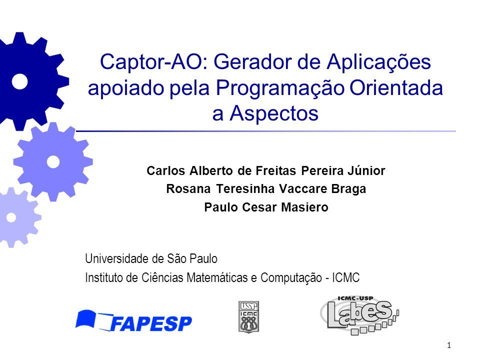 Captor-AO: Gerador de Aplicações apoiado pela Programação Orientada a Aspectos