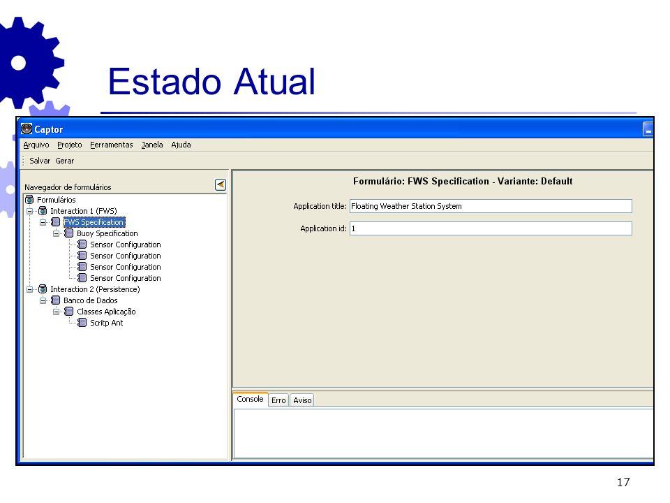 Estado Atual