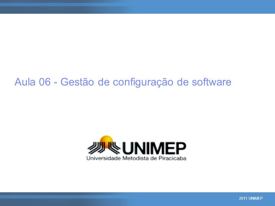 Aula 06 - Gestão de configuração de software