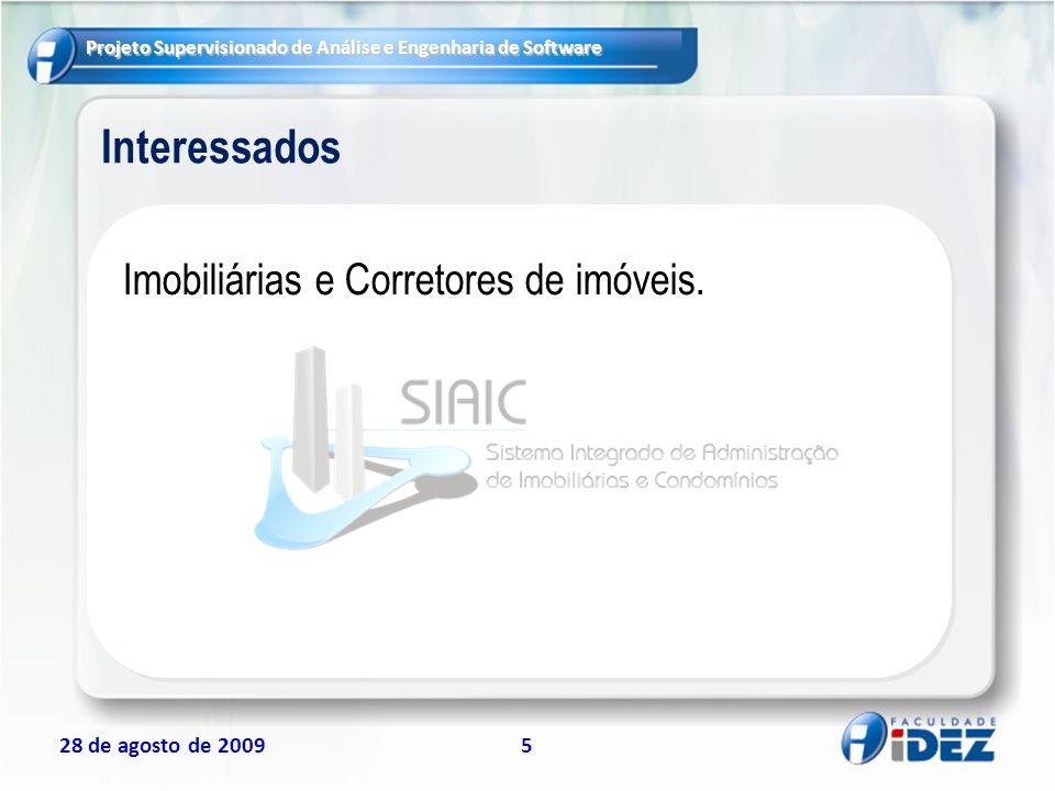 Interessados Imobiliárias e Corretores de imóveis.