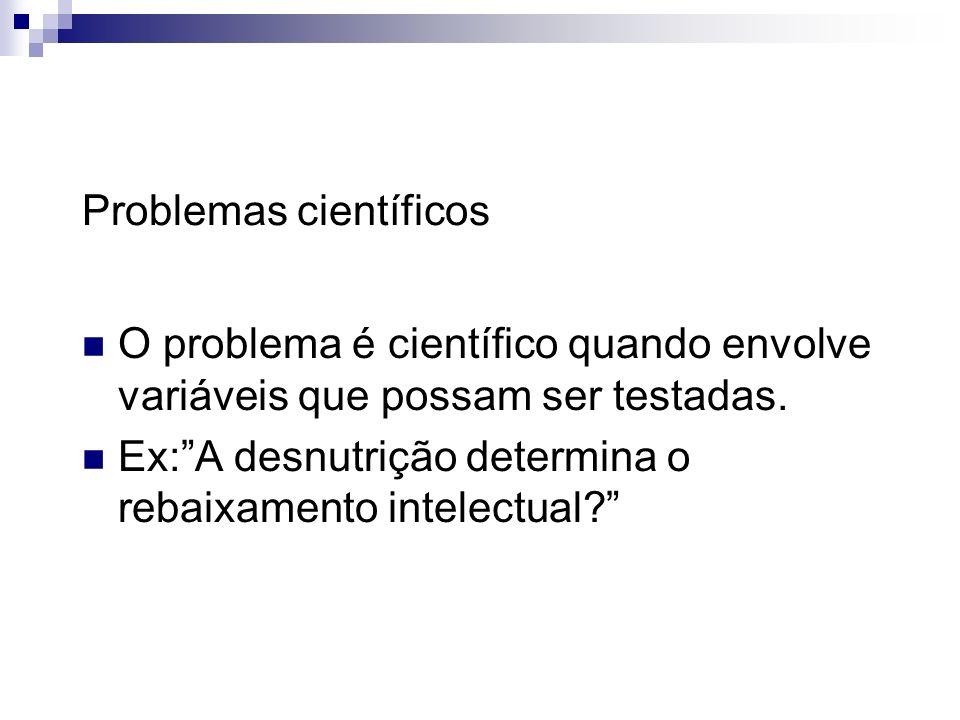 Problemas científicos