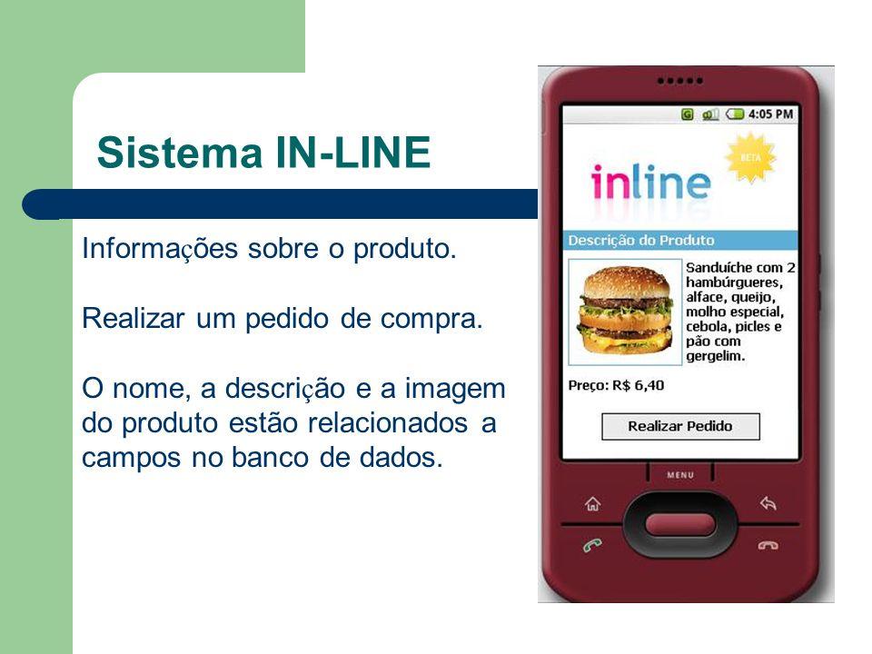Sistema IN-LINE Informações sobre o produto.