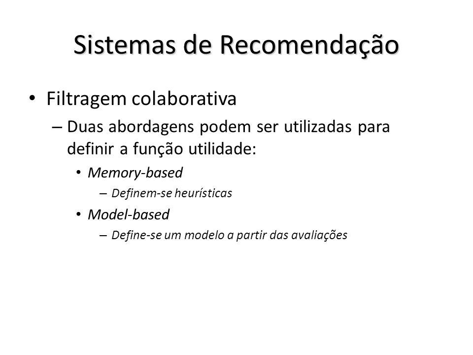Sistemas de Recomendação