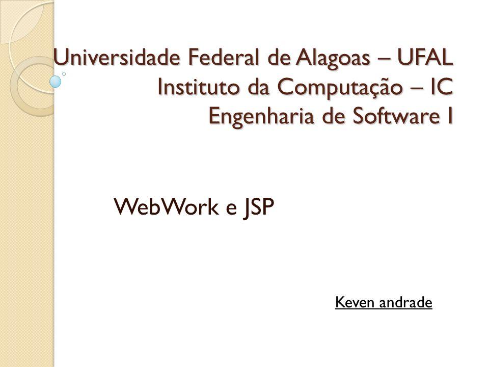 WebWork e JSP Keven andrade