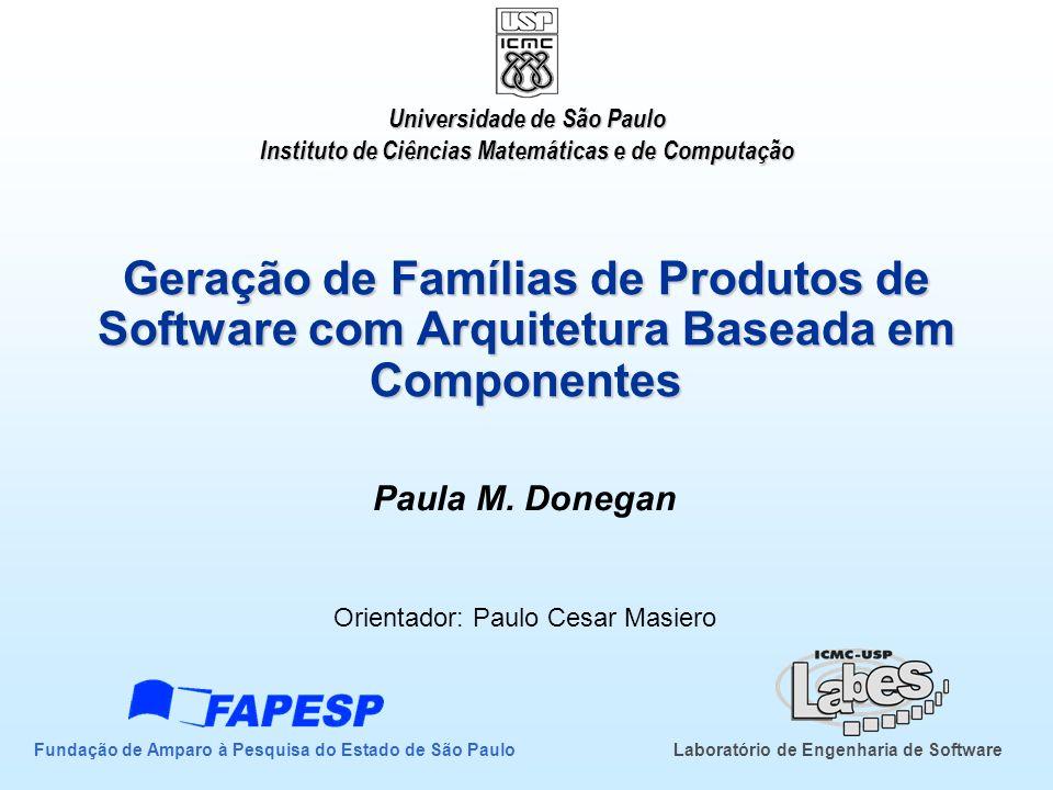 Paula M. Donegan Orientador: Paulo Cesar Masiero