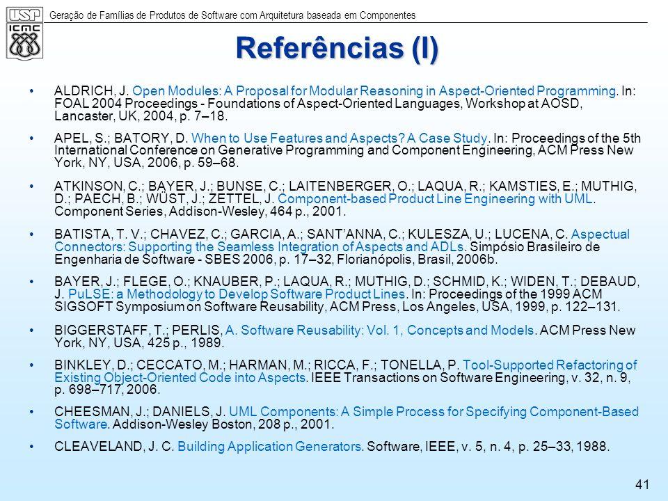 Referências (I)
