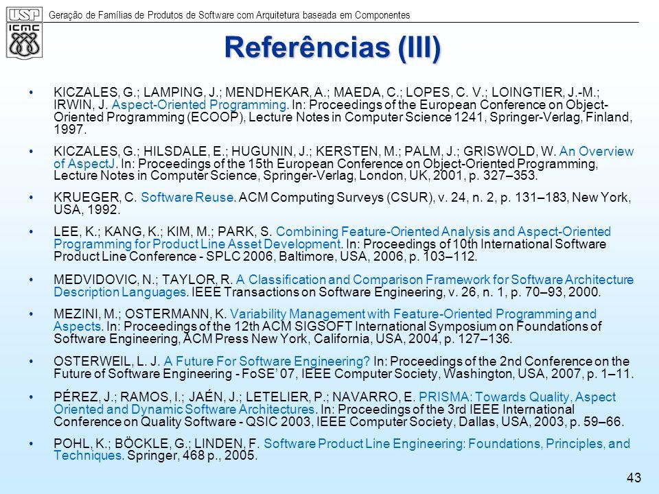 Referências (III)