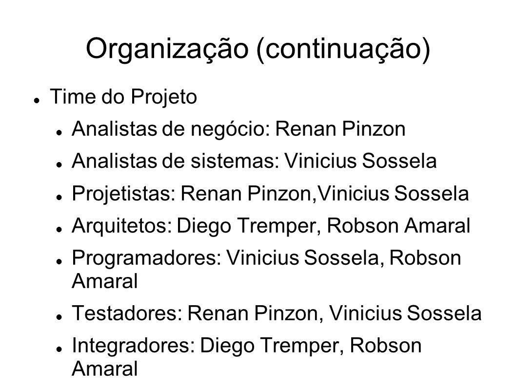 Organização (continuação)
