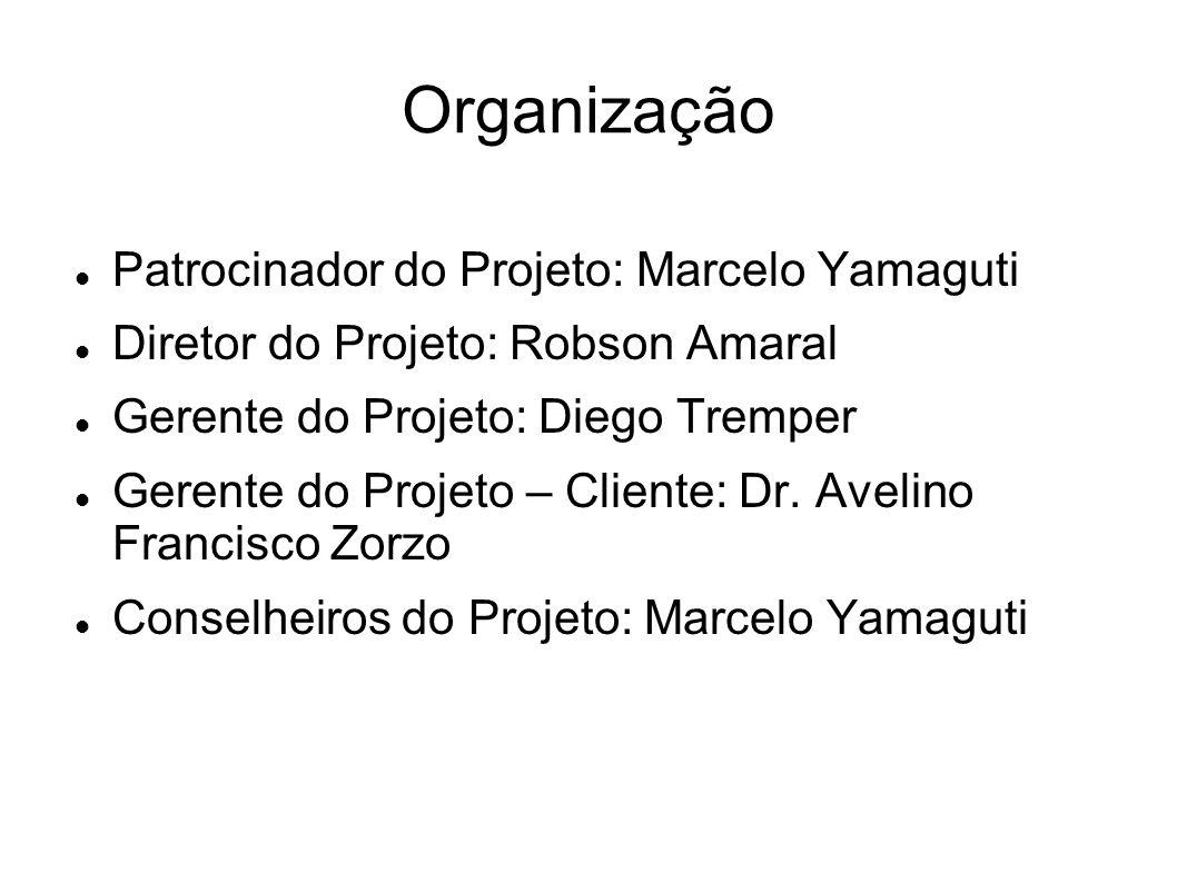 Organização Patrocinador do Projeto: Marcelo Yamaguti