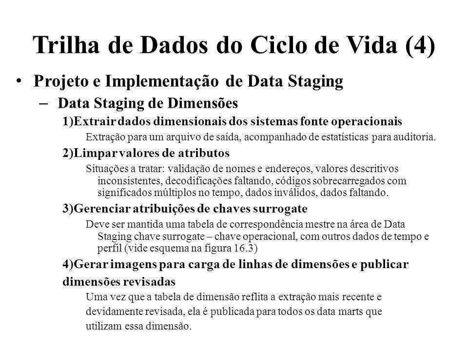 Trilha de Dados do Ciclo de Vida (4)