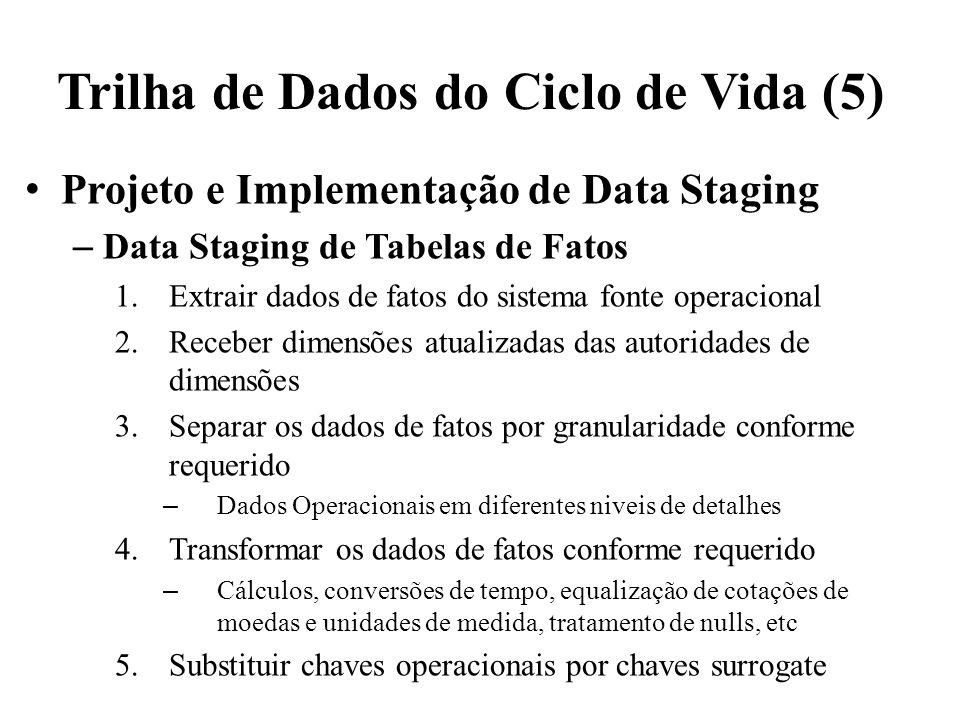 Trilha de Dados do Ciclo de Vida (5)