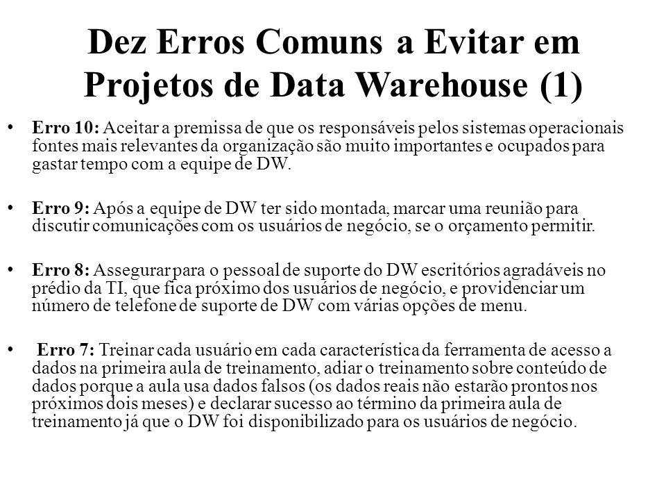 Dez Erros Comuns a Evitar em Projetos de Data Warehouse (1)