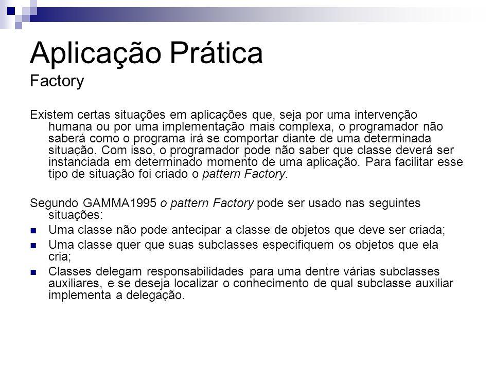 Aplicação Prática Factory